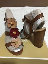 Michael Kors Sandals Kit Leather Sandal Size 9.5 M Flower