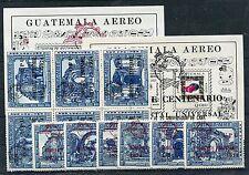 Guatemala 974/84 Block 16 a+ b postfrisch / UPU ............................1/12