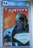 Justice League #51 Recalled Error Direct Edition 3.99 Rare DC Comic CGC 9.8