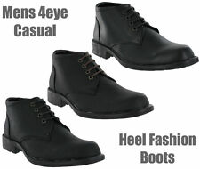 Casual Formal Fashion Black Brown Soft Ankle Dress Mens Boots Size 7-12 UK