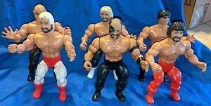 Six (6) 1985 AWA Remco (baron, Garvin, regal,Keirn,hawk,martel) wrestling figure