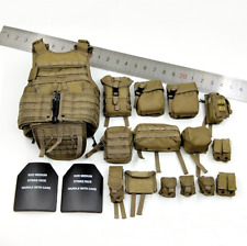 """1/6 Scale Iraq Special Operations Forces """"ISOF""""-SAW GUNNER Combat Vest+Packages"""