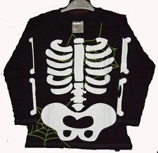 Shirt Sweatshirt Halloween Skelett Gespenst Grusel Fasching Kostüm 110/116   NEU