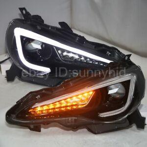 2013-2016 year LED Turn Lights For Subaru BRZ GT86 FT86 LED strip Headlights YZ