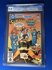 DC Comics Presents #34 Superman Shazam And Shazam Family CGC 9.8 Capt Marvel