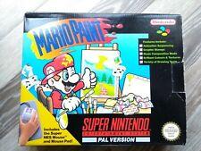 Super Nintendo SNES Mario Paint - Boxed Complete, Excellent Condition