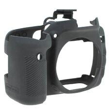 Easycover silicona-funda protectora para Canon EOS 80d-negra, funda Black