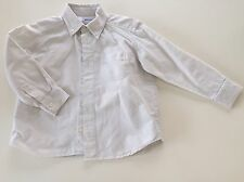 SUPERBE CHEMISE BLANCHE JACADI 4 ANS MANCHES LONGUES