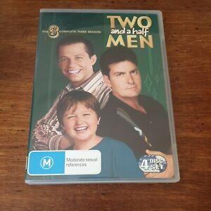 Two and a Half Men Season 3 DVD R4 Like New! FREE POST