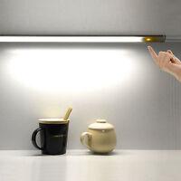 30CM LED Touch Sensor Light Dimmable Cabinet Lamp Wardrobe Lights Bar Strip Lamp