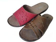 Zapatos planos de mujer mocasines de piel sintética