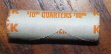roll of 10 dollars Centennial quarters uncirculated 1876-1976 D