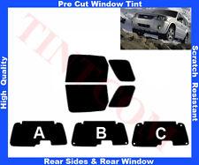 Passgenaue Auto-Tönungsfolie Ford Maverick 2002-2006 Heck/Seitenscheiben 5%-50%