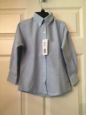 """Becky Thatcher Youth Girls Size 5"""" Long Sleeve Blue Uniform Shirt! New"""" ❤"""