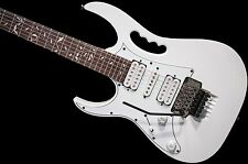 Ibanez Steve Vai Jem Jr. LEFTY Electric Guitar White no case jemjr