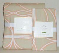 POTTERY BARN Aubrey Organic FULL/QUEEN Duvet Cover w/STANDARD Sham, NEW