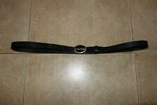 Dsquared² Runway SIGNATURE OVAL Leather Belt Cintura L Made in Italy, THE RAREST