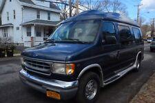 1997 Ford E150 Econoline Conversion Van for Parts or Rebuild Project Vehicle