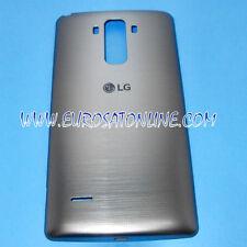 Akkufachdeckel Batterie Deckel Cover LG G4 Stylus H635 Silber Neu ORIGINAL Marke