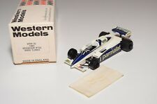 I WESTERN MODELS WM WRK32 1982 BRABHAM BT50 BMW TURBO RACING CAR MINT BOXED
