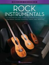 Rock Instrumentals Sheet Music Ukulele Ensembles Late Intermediate Uke 000103909