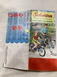 Original 1954 Schwinn Lightweight And Balloon Bicycle Catalog