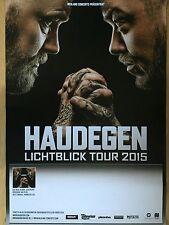 HAUDEGEN 2015 TOUR - orig.Concert Poster -- Konzert Plakat  A1 NEU