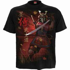 Spiral Direct Samurai Camiseta/Motero/Calavera/ Segador/Gótico/