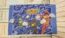 Power Rangers Wild Force Retro Pillow Case Vintage - Standard Twin