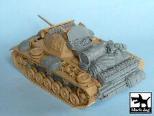 Pz.Kpfw. III Ausf L accessories set for Tamiya 32524, T48024, BLACK DOG, 1:48