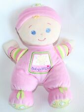 "2008 Fisher Price Baby'S 1st Doll Rattle Brilliant Basics 10"" Plush Lovey"