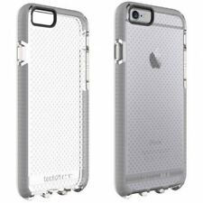 Tech21 iPhone 6S Plus & 6 plus Evo Mesh FlexShock Case Cover Black Clear/Grey