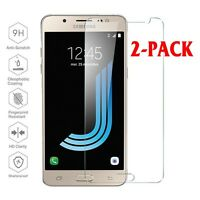 2pcs  9H LCD Tempered Glass Screen Protector for Samsung Galaxy J5 2016