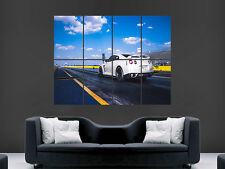 NISSAN SKYLINE CAR FAST WHITE  GIANT WALL POSTER ART PICTURE PRINT LARGE
