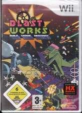 Blast Works Videogioco Nintendo WII Sigillato 5060136650192