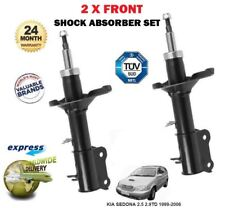 FOR KIA SEDONA 2.5 2.9TD 1999-2006 2X FRONT LEFT RIGHT SHOCK ABSORBERS SHOCKERS