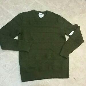 Old Navy Men's Crewneck Pullover Green Sz M NWT
