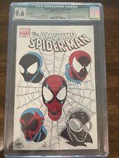 Amazing Spider-Man 648 CGC 9.6 Ken Header Spider Verse Remark And Sig. W/COA