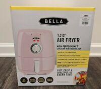 Bella Egg Pink 1.2 QT High Performance Air Fryer Kitchen Decor Retro 1200 Watts