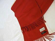 Rare Vintage, Vivienne Westwood Scarf, Solid Red Wool with Tassels