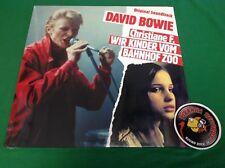 David Bowie Christiane F. Wir Kinder Vom Bahnhof Zoo Soundtrack LP Rock Piranha