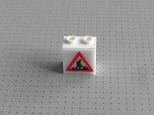 Lego Electric-Luz Ladrillo con trabajos de carreteras - 9v Luz Y Sonido - (2383 2384)