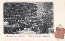 Pescara - Castellammare Adriatico - Interno Ristorante Stazione - fp vg 1901