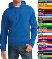 Jerzees Mens Hooded Sweatshirt Blended Hoodie Top Jumper Hoody S-4XL 28 COLORS!