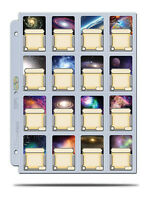 ULTRA PRO 16-Pocket Page for cards in Mini American Board Games Sleeve (10-Pack)