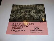 "ANNI FRIND - Nuns Chorus Casanova - UK 4-track 7"" vinyl single"