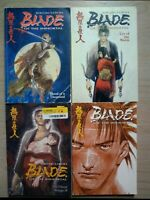 Blade of the Immortal 1-2, 5, 11, Lot of 4 Seinen Manga, English, Hiroaki Samura