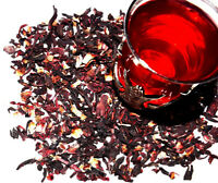 Hibiscus Tea - Decaffeinated - Herbal - Flower Tea - Loose Tea - FREE SHIPPING