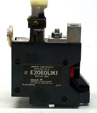 NEW GOULD CAT. NO. E20E0LIKI AMBIENT COMPENSATED OVERLOAD RELAY 600 VAC FK
