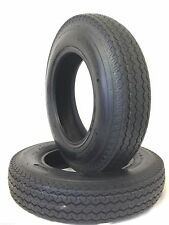 TWO 530-12 BOAT  5.30-12 6 PLY RATED LOAD C Hiway Speed Trailer Service Tires